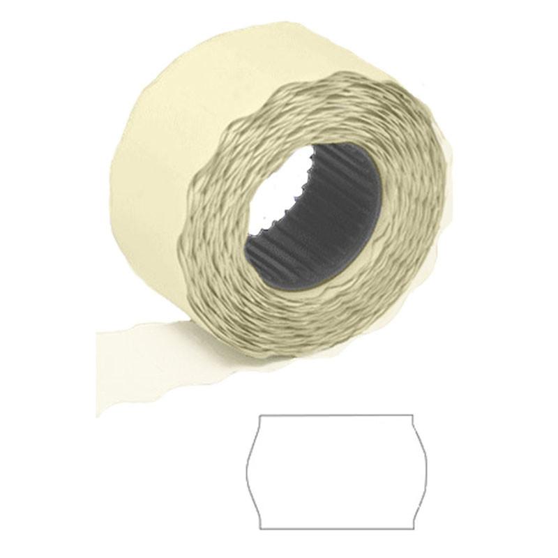 Ценник в рулоне 26*16 мм 800 этикеток белый цвет