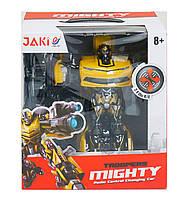 Трансформер JiaQi Mighty TT671 жовтий радіоуправління на акумуляторах зі світловими і звуковими ефектами