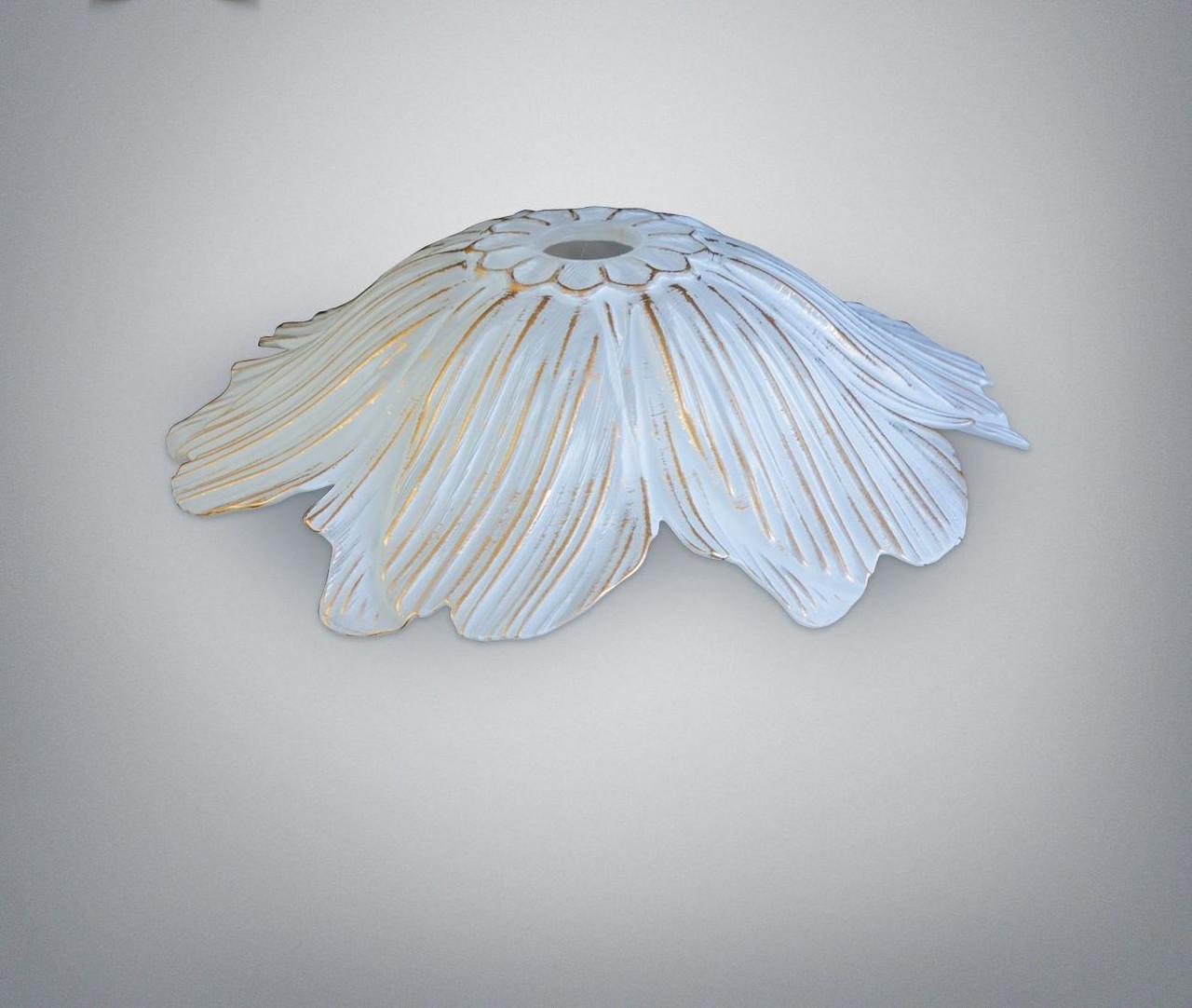 Плафон эволюзион белый-золото , цоколь Е27