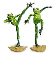 "Набір з 2 статуеток ""Жаби - кунг-фу"" MN - 62"