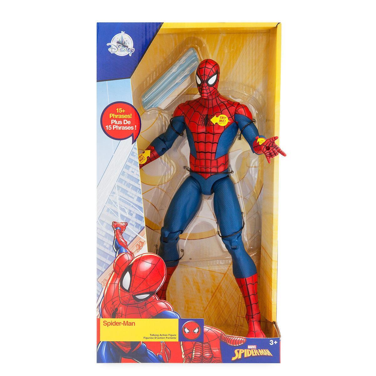 Человек Паук Дисней интерактивный говорящий 35см /Spider Man