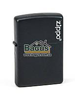 """Зажигалка с логотипом """"Zippo"""" ZIPPO LOGO оригинальная Zippo (США) (218ZL)"""