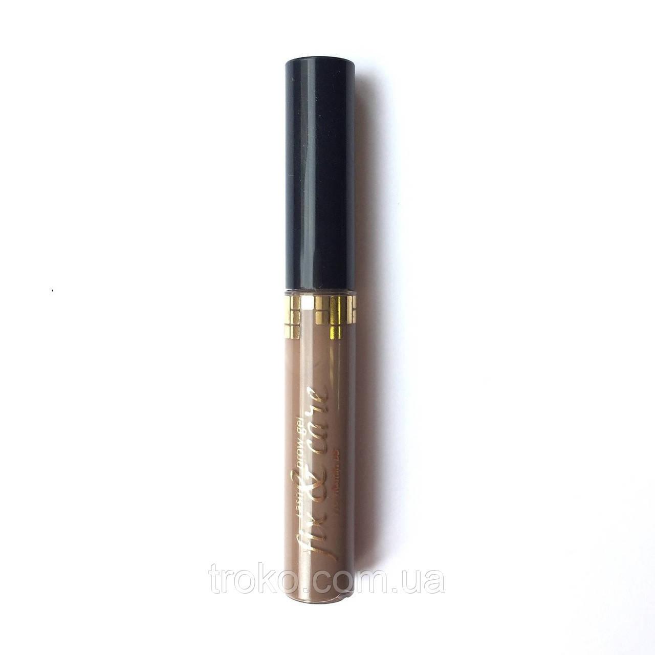 Art Visage гель для бровей и ресниц оттеночный Светло-коричневый 5мл