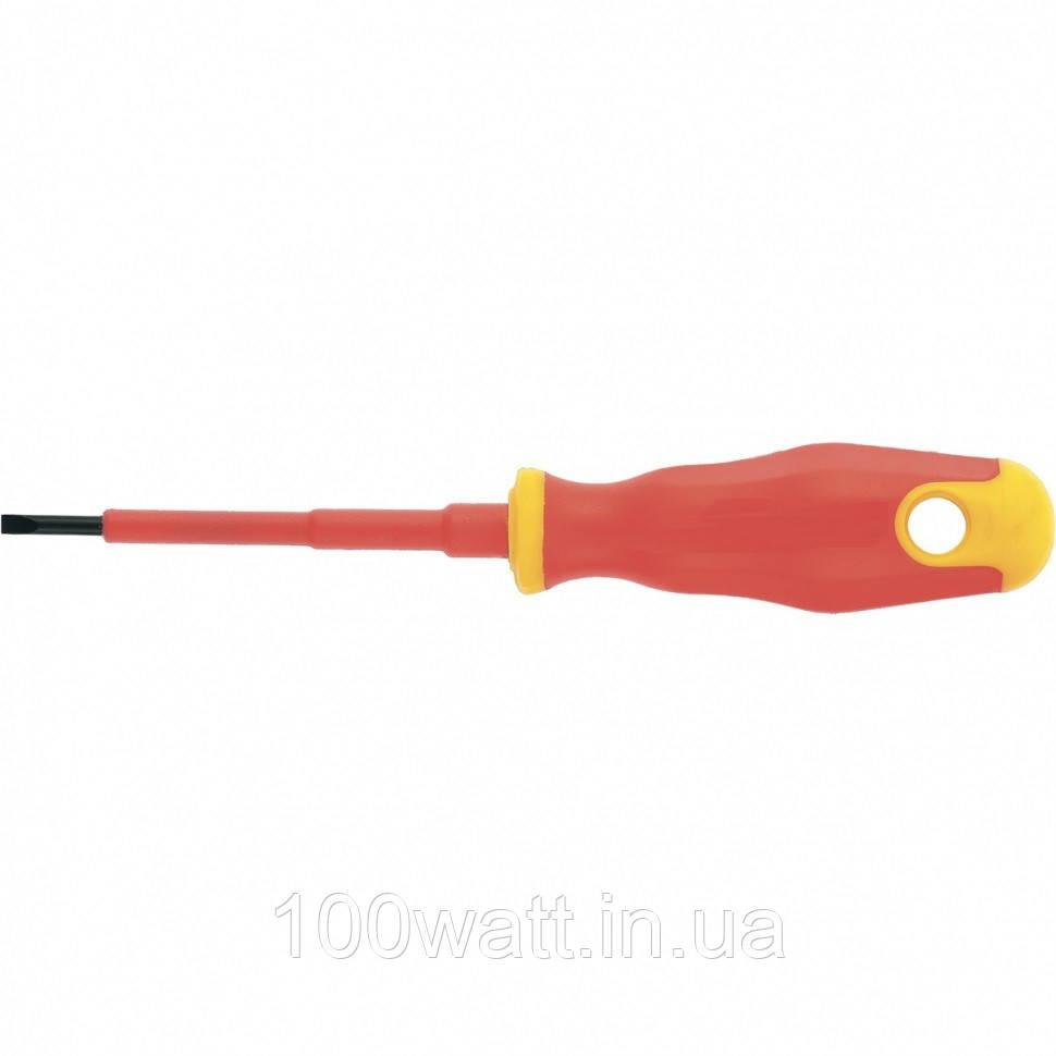 Диэлектрическая отвёртка MTX 1000v100х4,0х0,8 мм