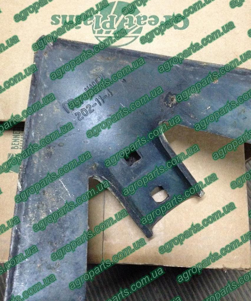 "Лапа 575-804V культиватора с наплавкой 820-401C лапы FC1881 Great Plains  820-401c Sweep, 11"" Hard Faced"