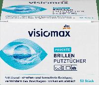 Чистящие салфетки для очков VISIOMAX Brillenputztücher, 52 st., фото 1