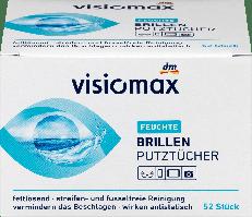 Чистящие салфетки для очков VISIOMAX Brillenputztücher, 52 st.