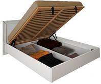 Кровать Белла 160*200 с каркасом и подъемным механизмом глянец белый ТМ Миро Марк