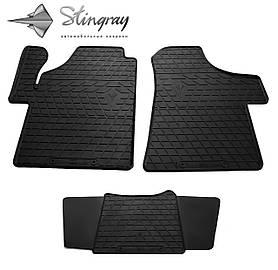 Резиновые коврики в салон Mercedes-Benz Vito W639 2003-2014 (3 шт) Stingray 1012293