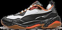 """Кроссовки  Puma Thunder Electric """"Black/White/Orange""""  реплика, фото 1"""