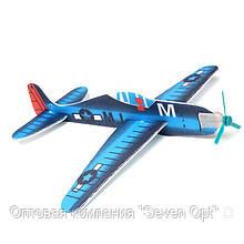 Детский комнатный планирующий самолетик с пропеллером 131720