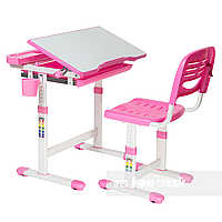 Детская парта и стул FunDesk Cantare, розовая, фото 1