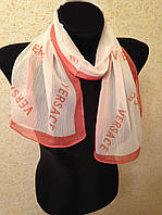 Шейный шарф шелковые Versace (цв 1)