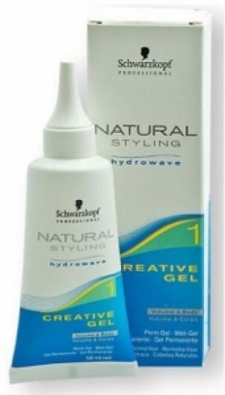 Креативний гель для прикорневой завивки волос