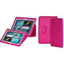 Чехол Yoobao Executive Leather Case для планшета Samsung Galaxy tab 2 10.1 gt-p5100/p5110 малиновый, фото 2