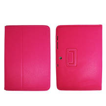 Чехол Yoobao Executive Leather Case для планшета Samsung Galaxy tab 2 10.1 gt-p5100/p5110 малиновый, фото 3