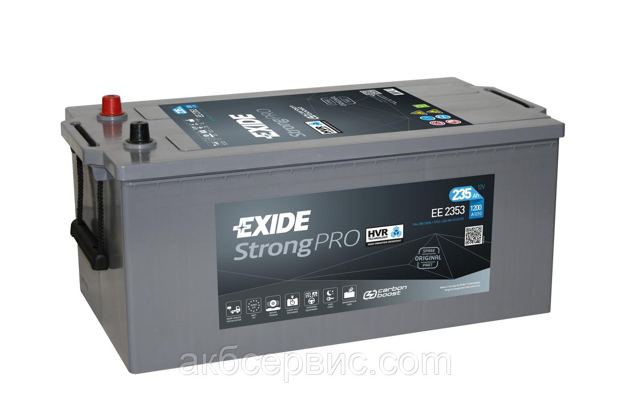 Аккумулятор автомобильный Exide EE2253