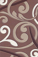 Плотный серый ковер Berra