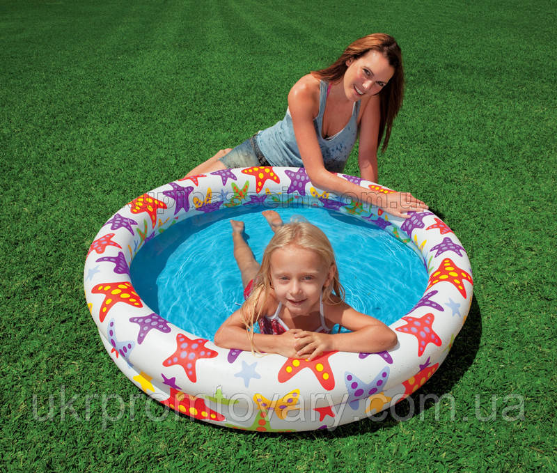 Надувной бассейн  Intex 59421 – «Звезды» Актуальная цена!