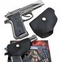 Зажигалка пистолет с кабурой №3728