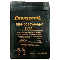 Аккумулятор свинцово-кислотный Energycell  6-4.0 (6V,4.0Ah)