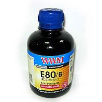 Чернила WWM для Epson L800;L1800  E80/B black 200ml
