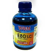 Чернила WWM для Epson L800;L1800  E80/LC Light Cyan  200ml