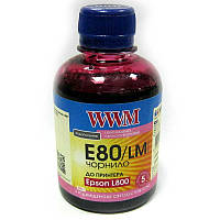 Чернила WWM для Epson L800;L1800  E80/LM Light Magenta  200ml