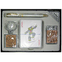 Набор Aladin ( 4 предмета) с картами и ручкой 6311-6312
