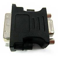 Переходник   AT-com   DVI(шт.24+5)-VGA(гн.)