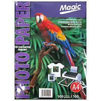 Фотобумага Magic A4 для сублимации 100л 100г/м2