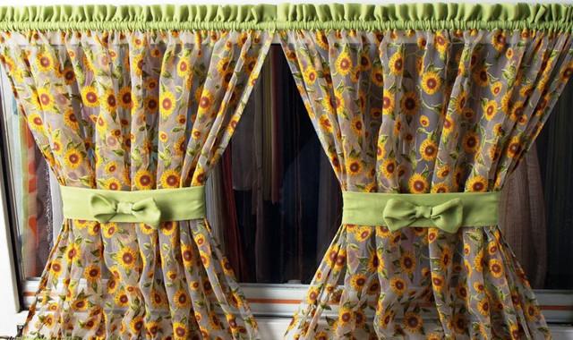 где купить ткань для штор в стиле «Кафе» в интернете