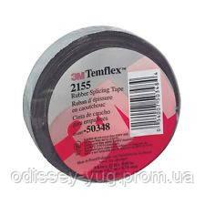 Cамослипающаяся  лента 3M™ 2155  Temflex™ Rubber Splicing Tape .19мм. х 6.7 м .х 0.76 мм.