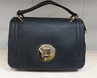 Черная женская сумка с одной ручкой