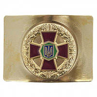 Бляха на ремінь ЗСУ золота кольорова Україна