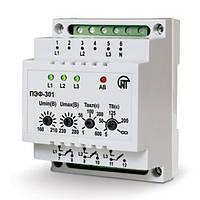 Электронный переключатель фаз 16А ПЭФ-301