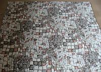 Микрофибровая простынь,покрывало ELWAY 1933-2 евро размер (200*220)