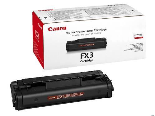 Заправка картриджа: FX-3   Для принтера:Canon  FAX-L60/90/200/250/280/300/350