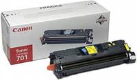 Заправка картриджа: 701Yellow  желтый Для принтера:Canon LBP-5200