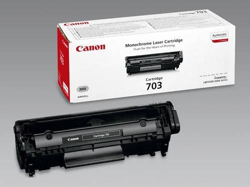 Заправка картриджа: Cartridge 703 Для принтера:Canon LBP2900/3000