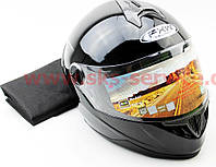 Шлем закрытый FXW HF-122 S- черный глянец