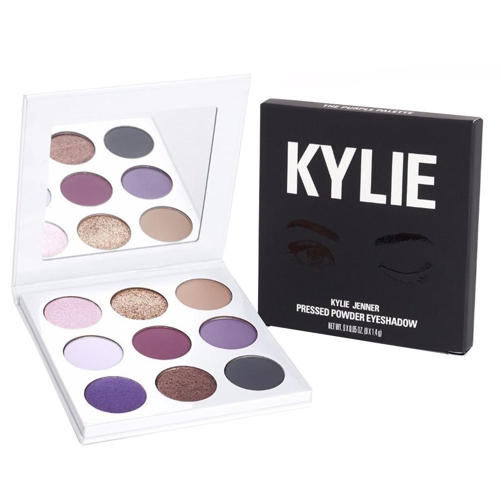 Kylie тени 9 цветов с зеркалом