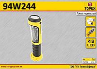 Лампа на аккумуляторах 48LED,  TOPEX  94W244