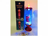 Романтическая Свеча Ночник День Святого Валентина 8 Марта Подарок Сувенир на Батарейках, фото 1