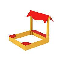 Детская песочница Приключение с крышей, фото 1