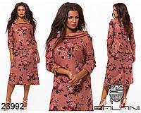 Удлиненное женское вечернее платье,размеры:48,50,52,54., фото 1