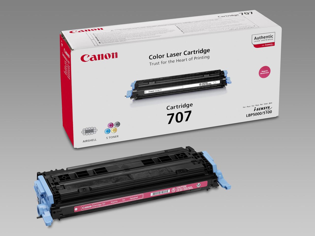 Заправка картриджа: Cartridge С-707Мangenta Для принтера:Canon LBP 5000