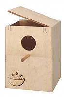 Гнездовой домик для попугаев NIDO EXTRA LARGE.Размеры: 26 х 25 х 33 см