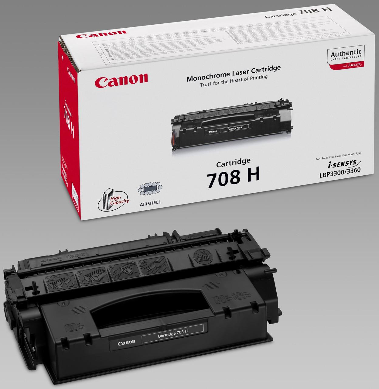 Заправка картриджа: Cartridge С-708Н Для принтера:Canon LBP-3300