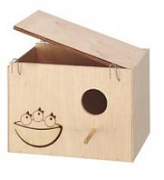 Ferplast гнездовой домик.NIDO LARGE.Размеры: 25 х 17 х 17 см